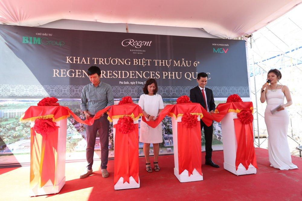 Chinh thuc khai truong biet thu mau Regent Residences Phu Quoc hinh anh 1