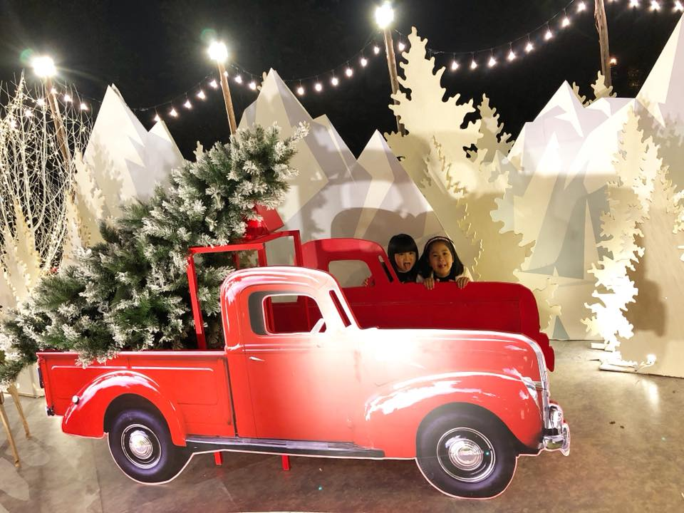 Den Ecopark don Giang sinh dam chat Bac Au cung ong gia Noel lon nhat Viet Nam hinh anh 4