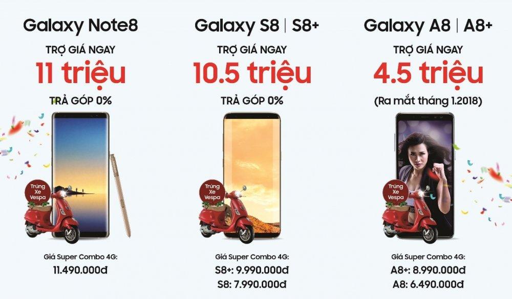 Mua dien thoai Samsung tro gia 'khung' 11 trieu dong trong chuong trinh Super Combo 4G hinh anh 2