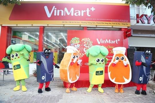 Bung no khai truong VinMart+ tai Vung Tau hinh anh 1