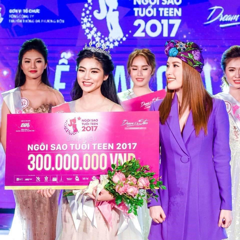Nu sinh 'van nguoi me' Nguyen Bui Nam Phuong dang quang Ngoi sao tuoi Teen 2017 hinh anh 1