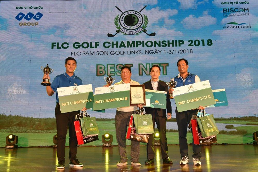 Golfer nguoi Lao Chanpasit Ounaphom vo dich giai FLC Golf Championship 2018 hinh anh 5
