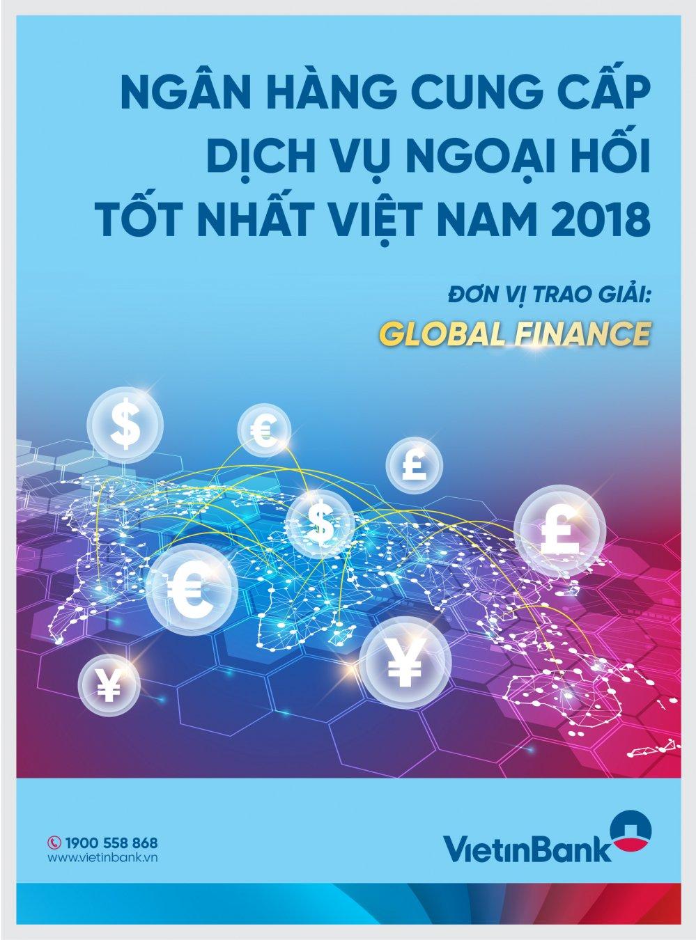 VietinBank 'cung cap dich vu ngoai hoi tot nhat Viet Nam 2018' hinh anh 2