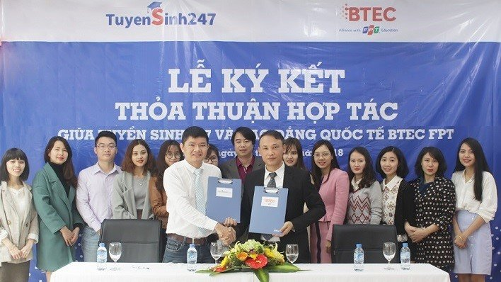 Truong Cao dang Quoc te BTEC FPT hop tac voi Tuyensinh247.com hinh anh 1