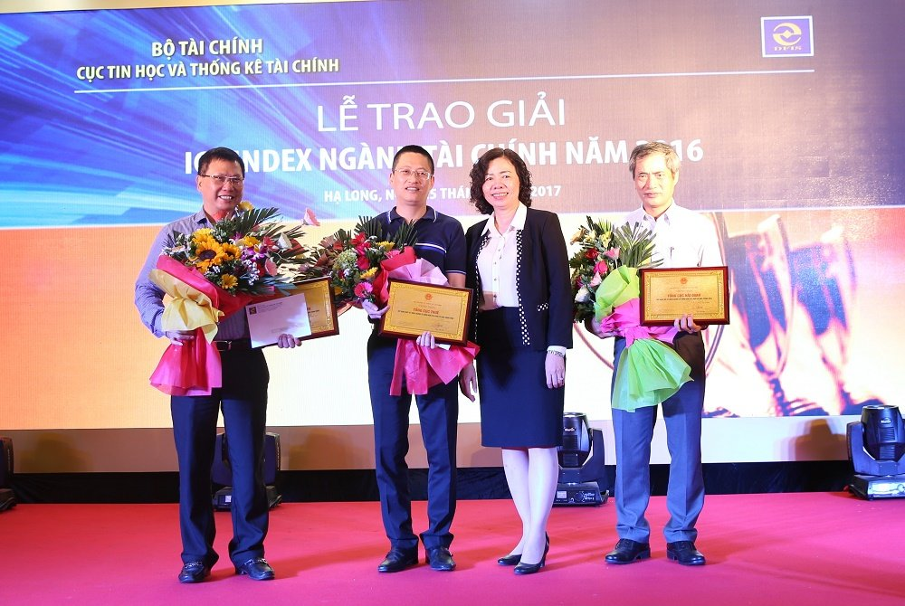 Tong cuc Thue xep thu nhat ICT Index nganh Tai chinh nam 2016 hinh anh 1