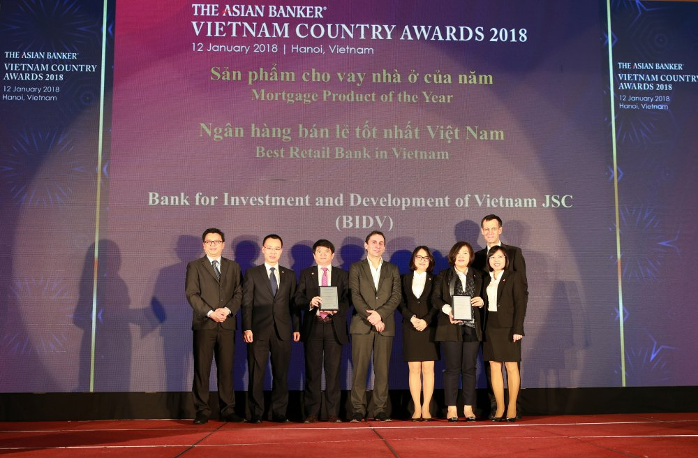 BIDV tro thanh Ngan hang Ban le tot nhat Viet Nam 4 nam lien tiep hinh anh 1