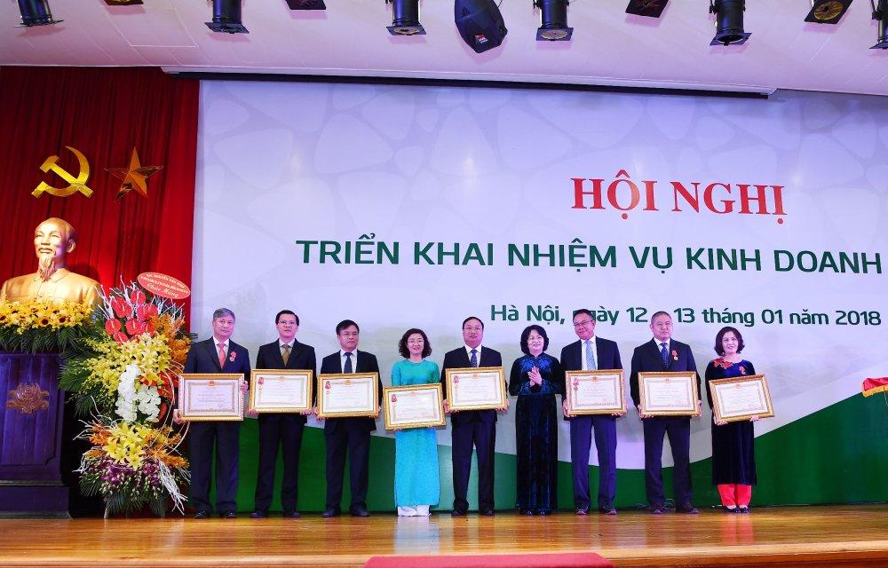 Vietcombank to chuc Hoi nghi trien khai nhiem vu kinh doanh nam 2018 hinh anh 1