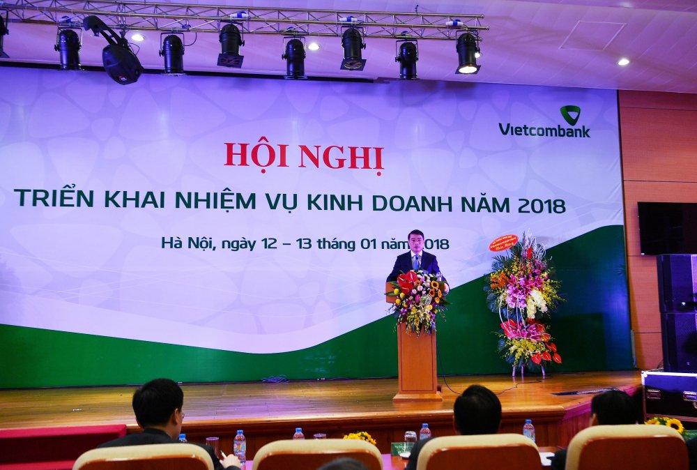 Vietcombank to chuc Hoi nghi trien khai nhiem vu kinh doanh nam 2018 hinh anh 4