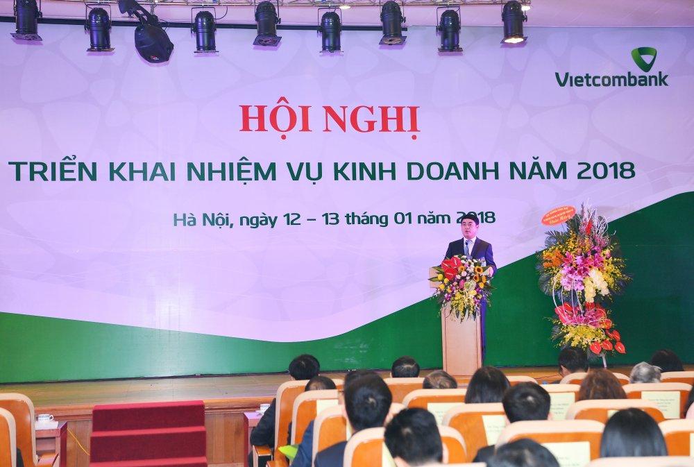Vietcombank to chuc Hoi nghi trien khai nhiem vu kinh doanh nam 2018 hinh anh 5