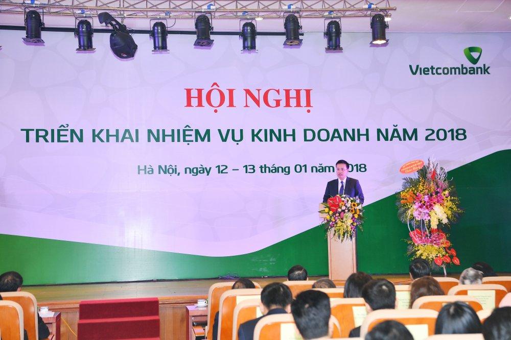 Vietcombank to chuc Hoi nghi trien khai nhiem vu kinh doanh nam 2018 hinh anh 6