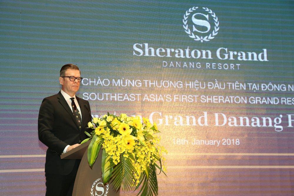 Tap doan Marriott International ra mat khu nghi duong thuong hieu Sheraton Grand dau tien o Dong Nam A hinh anh 2