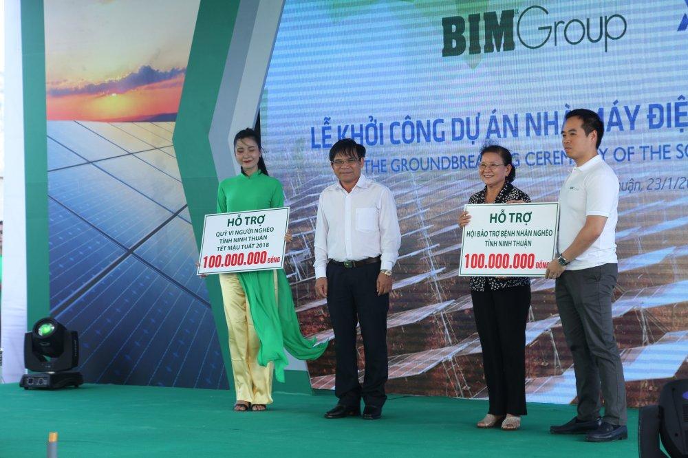 Khoi cong Nha may dien mat troi du an BIM 1 hinh anh 3