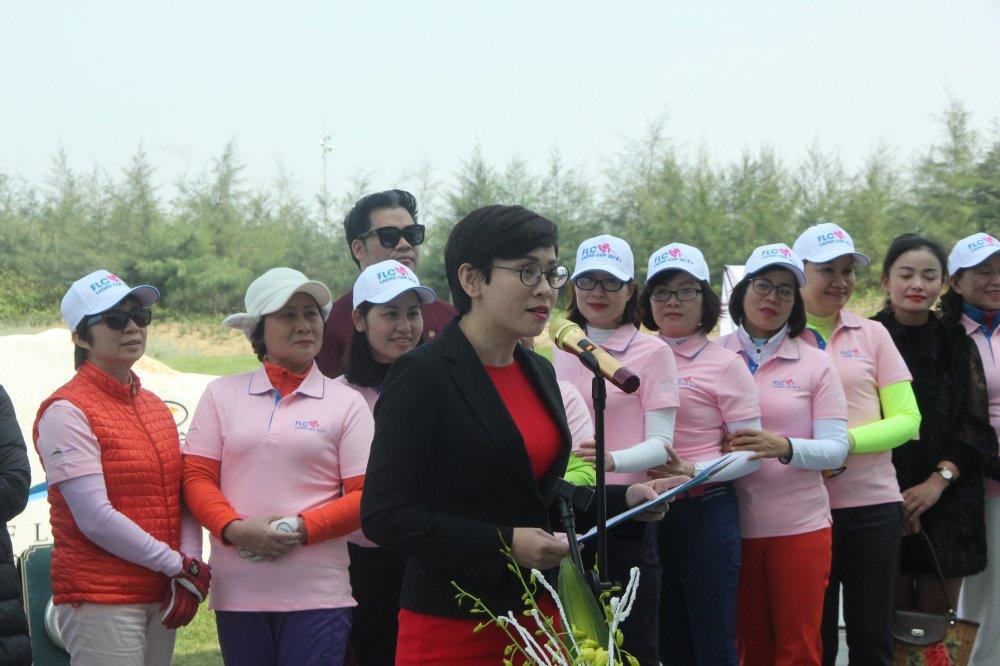 Gan 200 gon thu nu tham du giai Golf FLC Ladies Cup 2018 hinh anh 2