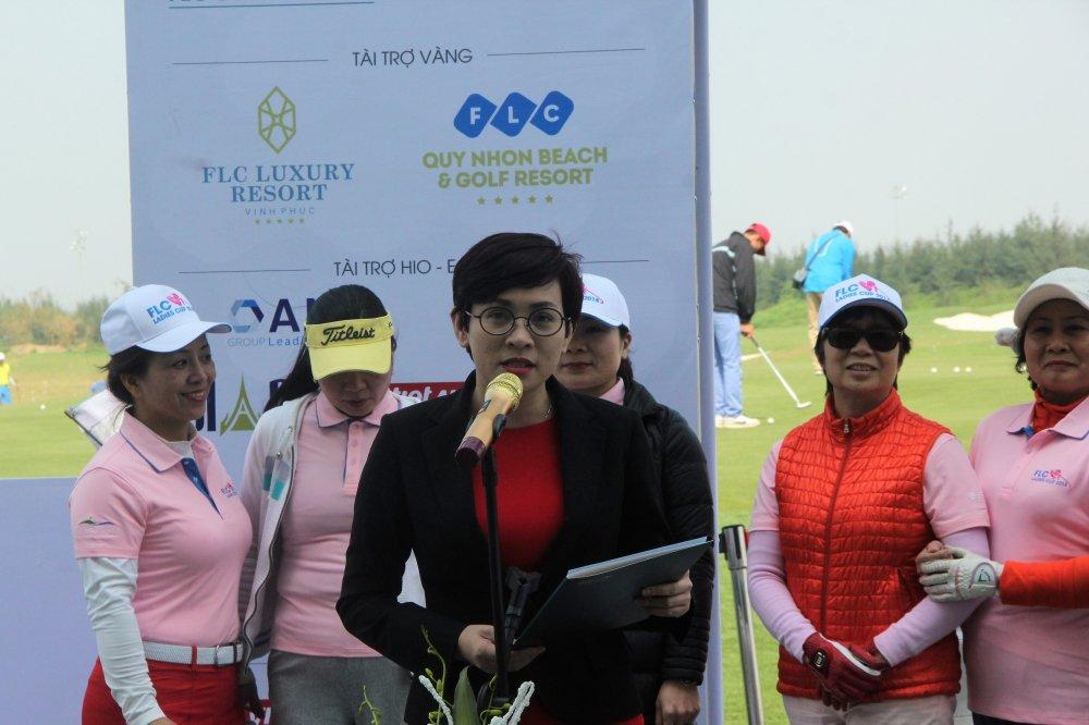 Gan 200 gon thu nu tham du giai Golf FLC Ladies Cup 2018 hinh anh 3