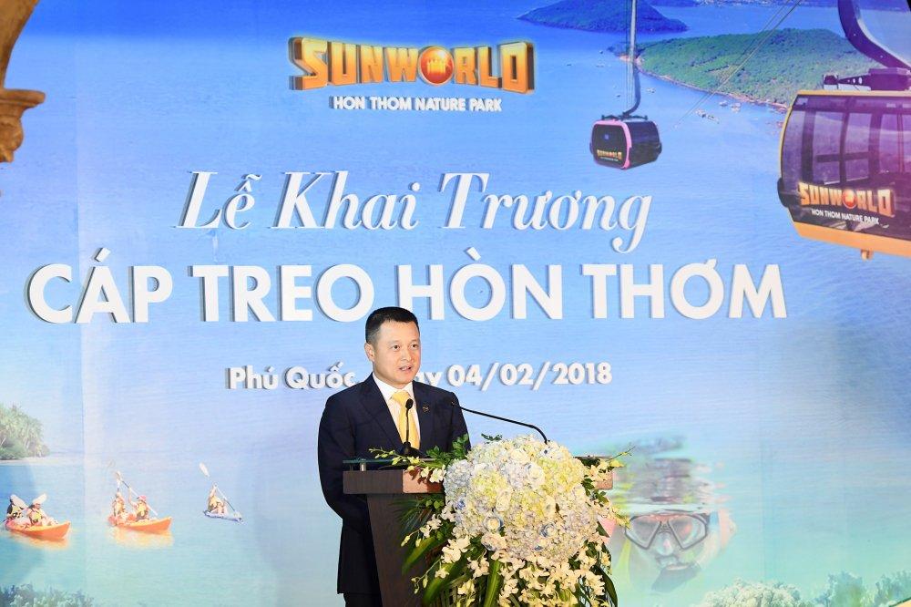 Phu Quoc khai truong cap treo Hon Thom dai nhat the gioi hinh anh 6