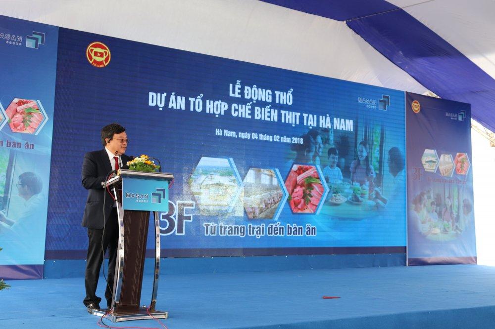Masan Nutri-Science khoi cong to hop che bien thit tai Ha Nam hinh anh 2