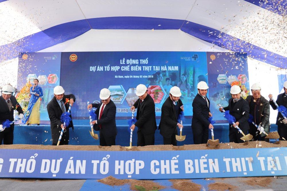 Masan Nutri-Science khoi cong to hop che bien thit tai Ha Nam hinh anh 1
