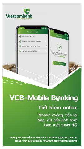 Tinh nang moi tren kenh ngan hang di dong VCB-Mobile B@nking hinh anh 1