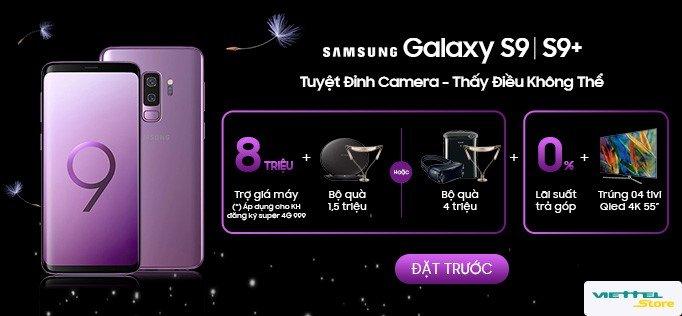 Dat truoc Samsung Galaxy S9/S9+: Tro gia 8 trieu, rinh qua tang 4 trieu dong hinh anh 1