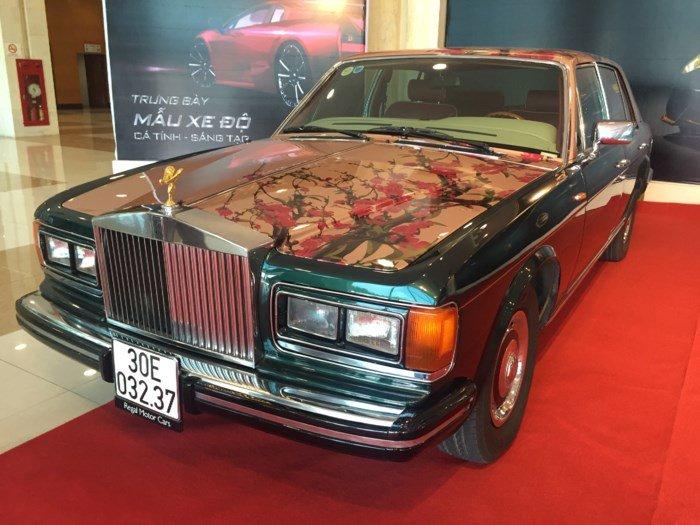 Dan xe Rolls Royce sieu sang xuat hien tai FLC Faros Golf Tournament 2018 hinh anh 1
