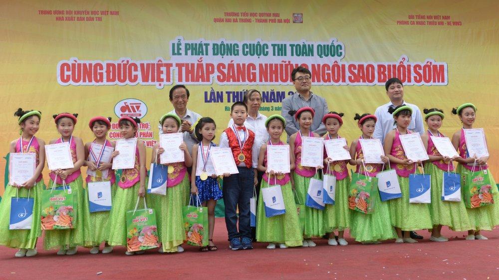 Le phat dong cuoc thi 'Cung Duc Viet thap sang nhung Ngoi sao buoi som' lan thu 4 nam 2018 hinh anh 1