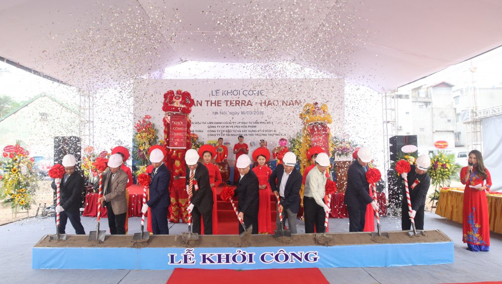 Chinh thuc khoi cong du an The Terra – Hao Nam hinh anh 1