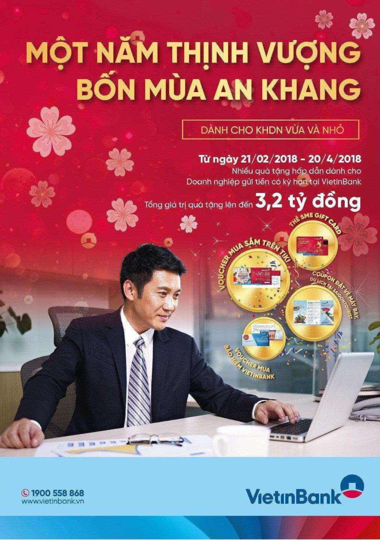 VietinBank cung khach hang SME 'Mot nam thinh vuong, Bon mua an khang' hinh anh 1