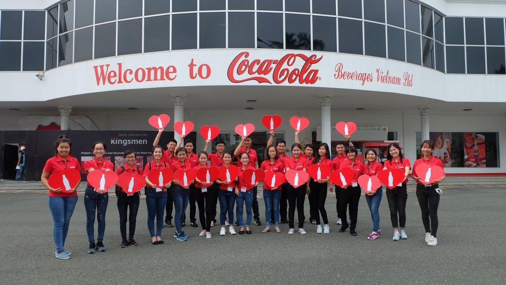 Coca-Cola dung dau bang xep hang 'Nha tuyen dung yeu thich 2017' hinh anh 1