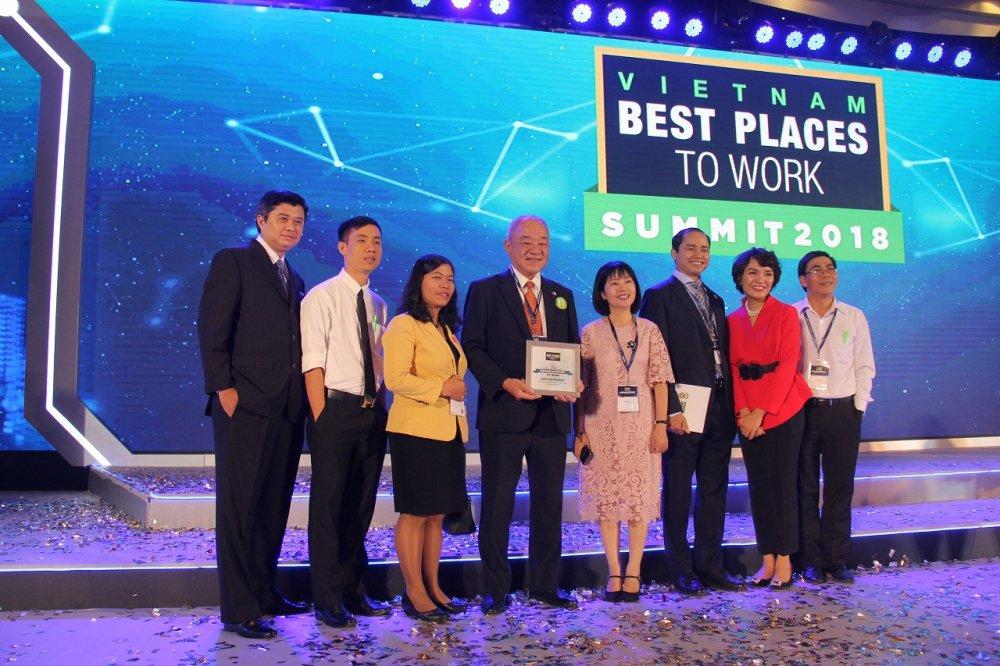 Acecook Viet Nam o vi tri 27 trong 'Top 100 noi lam viec tot nhat Viet Nam' hinh anh 1