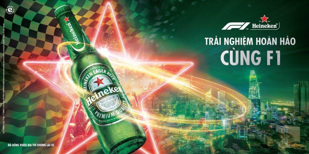 Lan dau tien tai Viet Nam, Heineken mang den trai nghiem hoan hao ve duong dua xe cong thuc 1 hinh anh 1