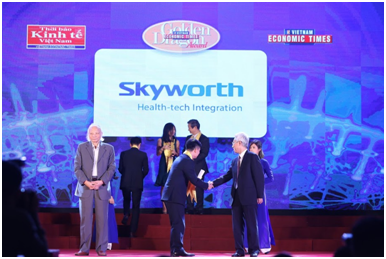 Skyworth Viet Nam duoc vinh danh tai giai thuong Rong Vang lan thu 17 hinh anh 2