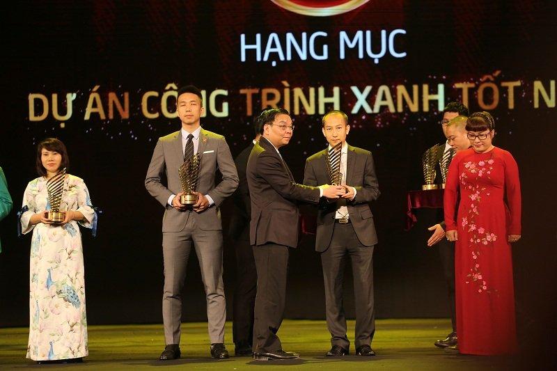 Nha phat trien BDS xanh Capital House dat cu dup Giai thuong Quoc gia Bat dong san Viet Nam 2018 hinh anh 2