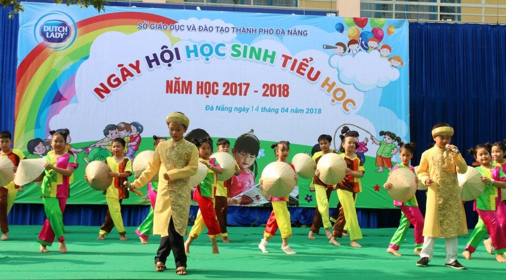 FrieslandCampina Viet Nam dong hanh cung ngay hoi hoc sinh tieu hoc Da Nang hinh anh 2