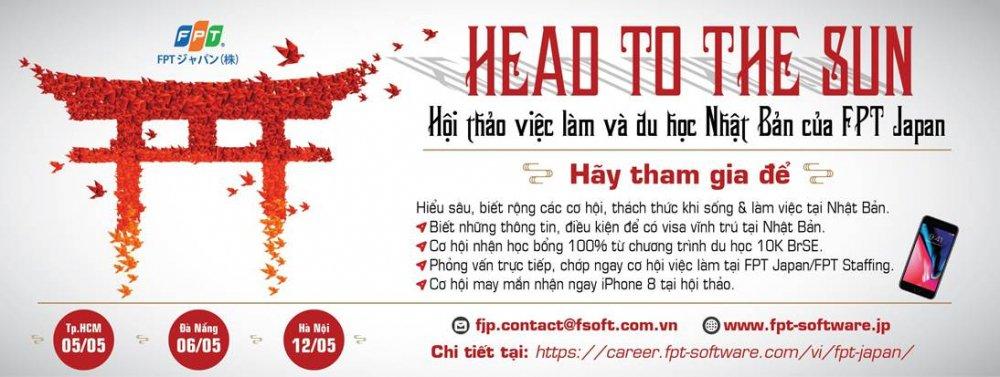 'Head to the Sun' cung FPT Japan duong den Nhat chua bao gio gan den the hinh anh 1