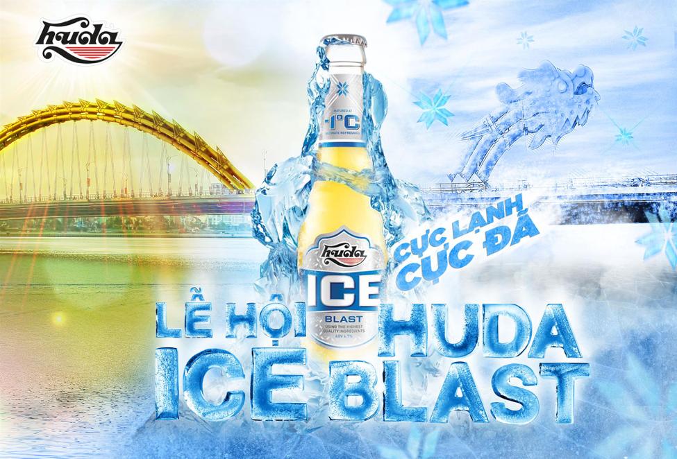 Carlsberg Viet Nam ra mat Huda Ice Blast - dong bia moi su dung cong nghe u bia o -1 do C hinh anh 1