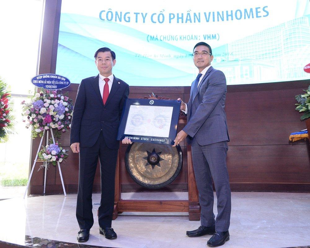Vinhomes chinh thuc niem yet 2,68 ty co phieu - ma VHM hinh anh 1
