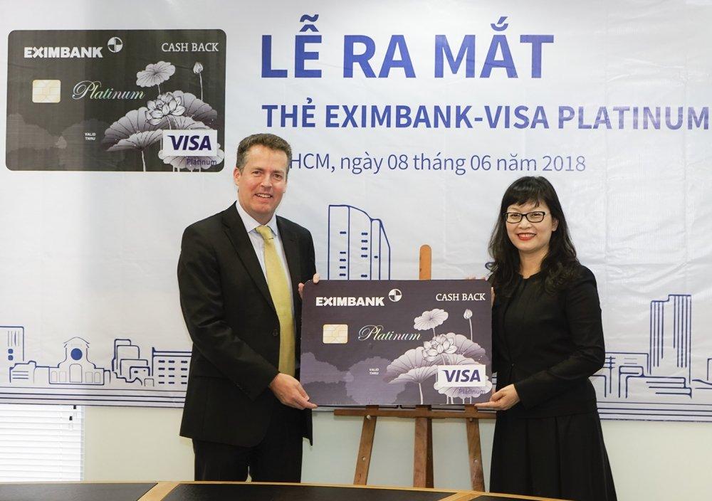 'Dung the chi tieu, nhan ngay tien thuong' cung the tin dung Eximbank – Visa Platinum Cash Back hinh anh 1