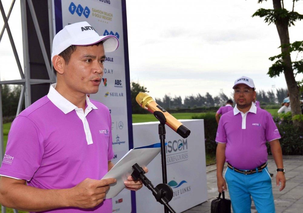 Khai mac giai Artex Golf Tournament 2018 hinh anh 1