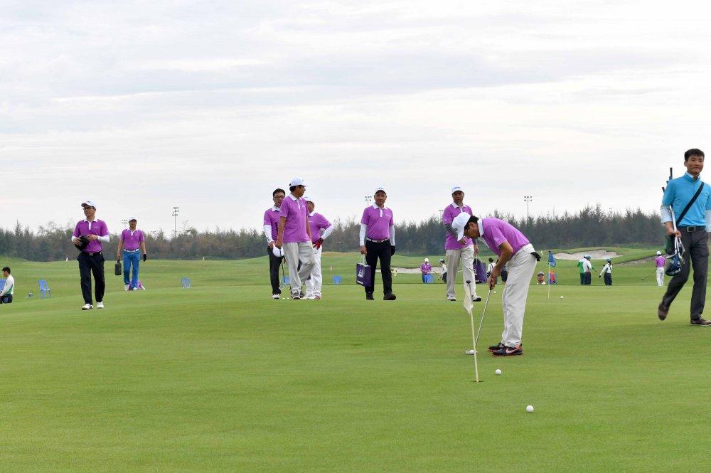 Khai mac giai Artex Golf Tournament 2018 hinh anh 6