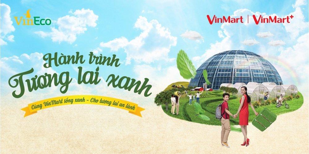 'Hanh trinh Tuong Lai Xanh' cung VinMart va VinMart+ hinh anh 1