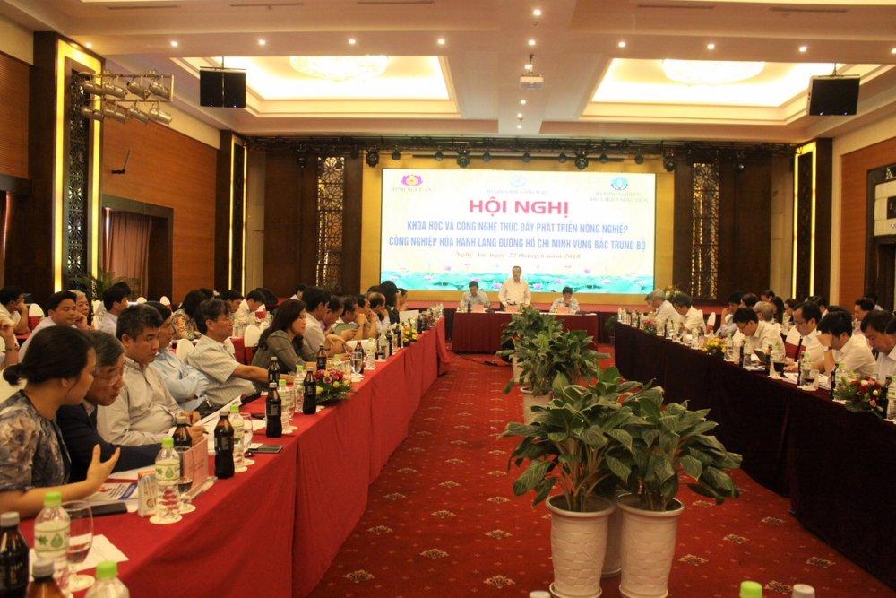 KH&CN thuc day phat trien nong nghiep cong nghiep hoa hanh lang duong Ho Chi Minh vung Bac Trung Bo hinh anh 2