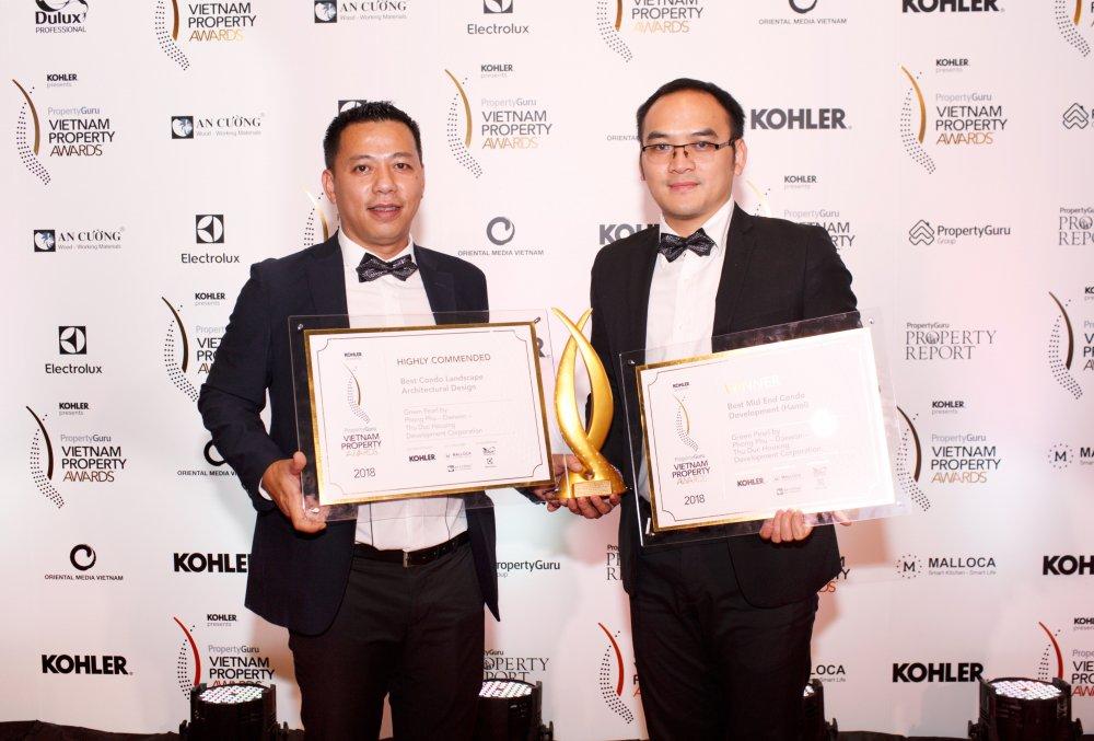 Green Pearl doat 2 Giai thuong Vietnam Property Award 2018 hinh anh 1