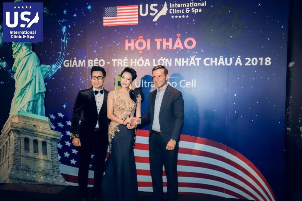 Ha Ho, Thu Phuong noi bat tai Hoi thao ve cong nghe giam beo Ultra Lipo Cell hinh anh 2