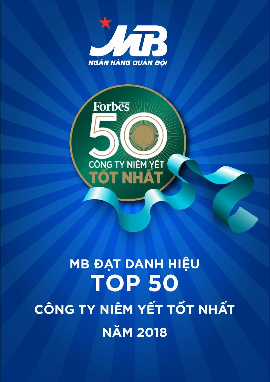 MB - Top 50 cong ty niem yet tot nhat Viet Nam 2018 hinh anh 1