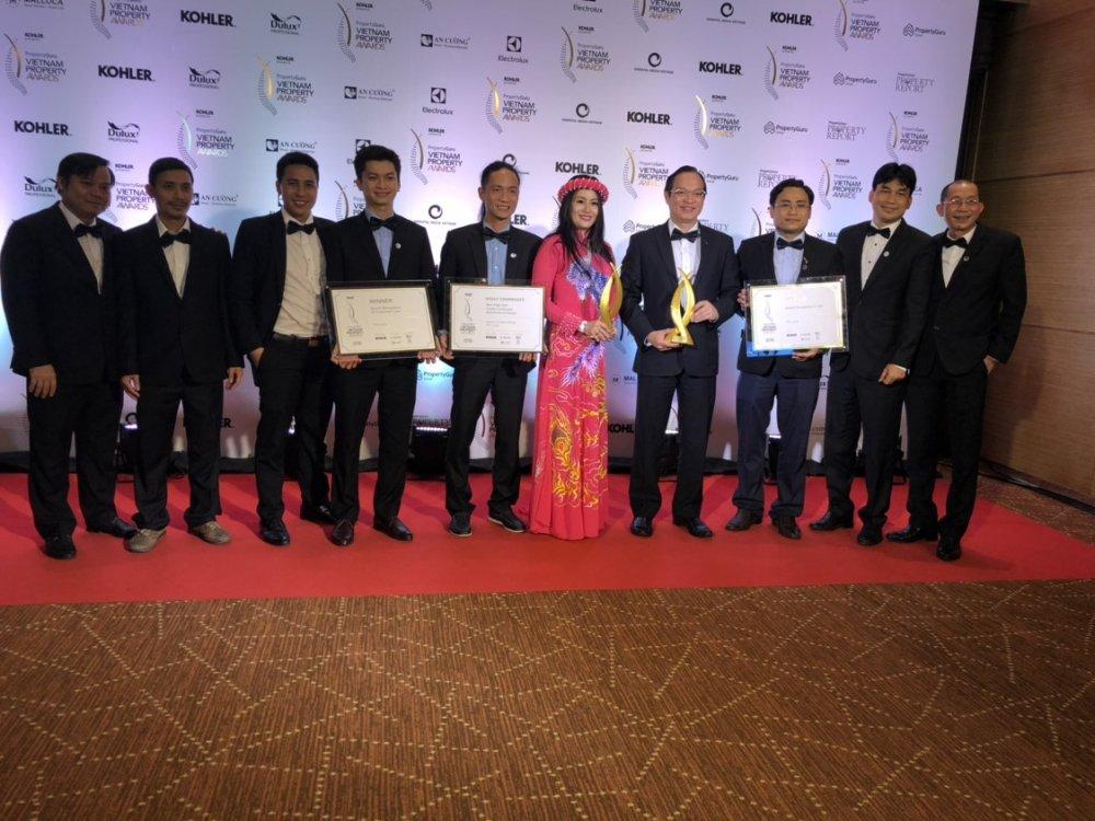 Jamona Golden Silk cua TTC Land dat Giai thuong Vietnam Property Awards 2018 hinh anh 1