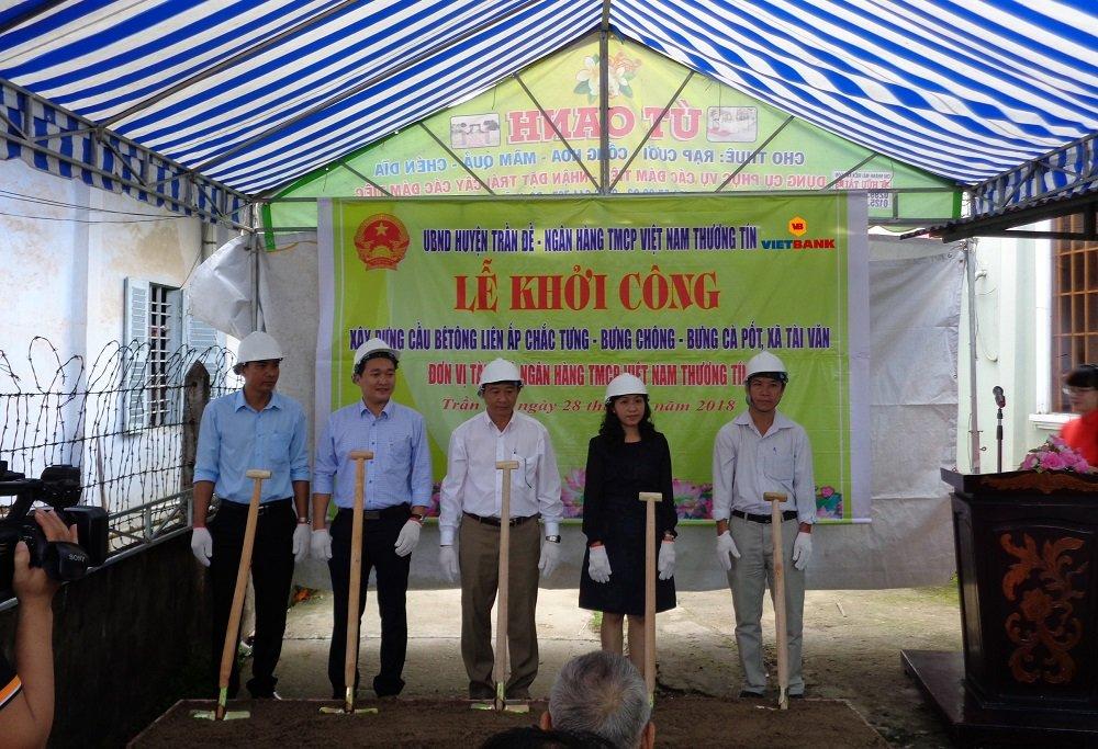 Vietbank tai tro 1 ty dong xay dung cau tai Soc Trang hinh anh 1