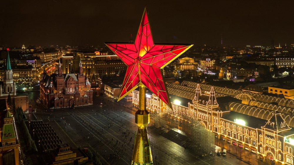 Anh: Dieu it biet ve nhung ngoi sao tren dinh thap Kremlin hinh anh 1