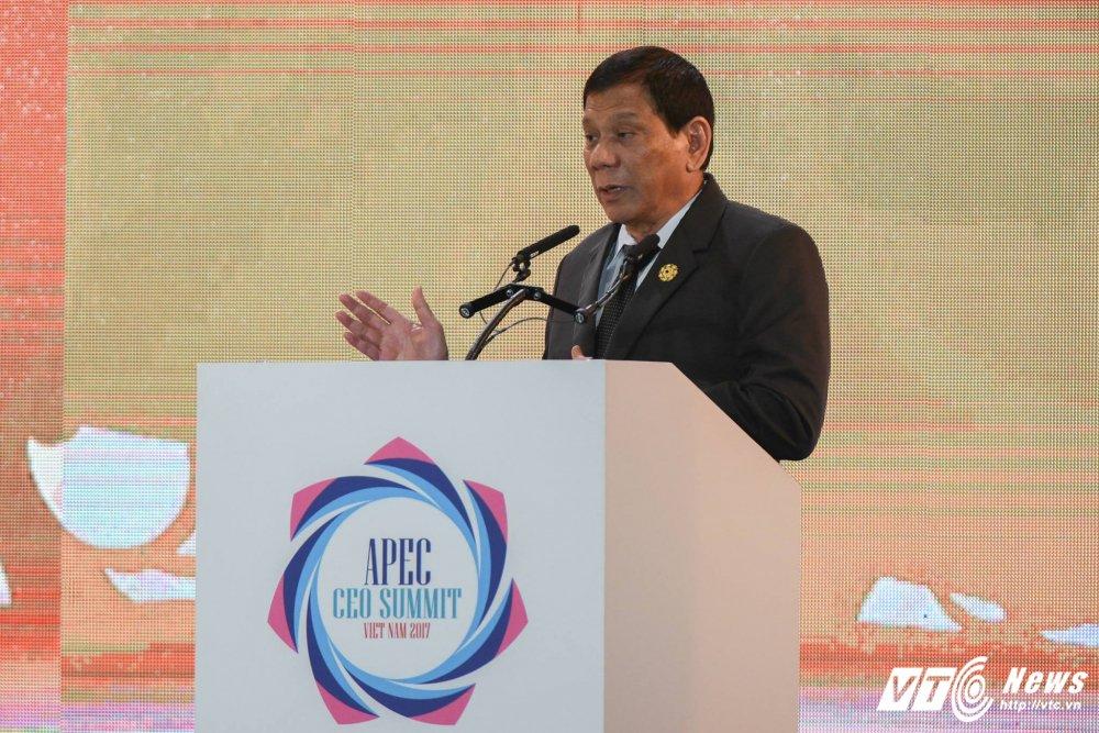 Tong thong Philippines Duterte da phat bieu gi o Da Nang? hinh anh 2