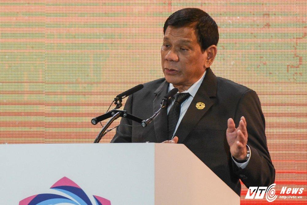 Tong thong Philippines Duterte da phat bieu gi o Da Nang? hinh anh 1