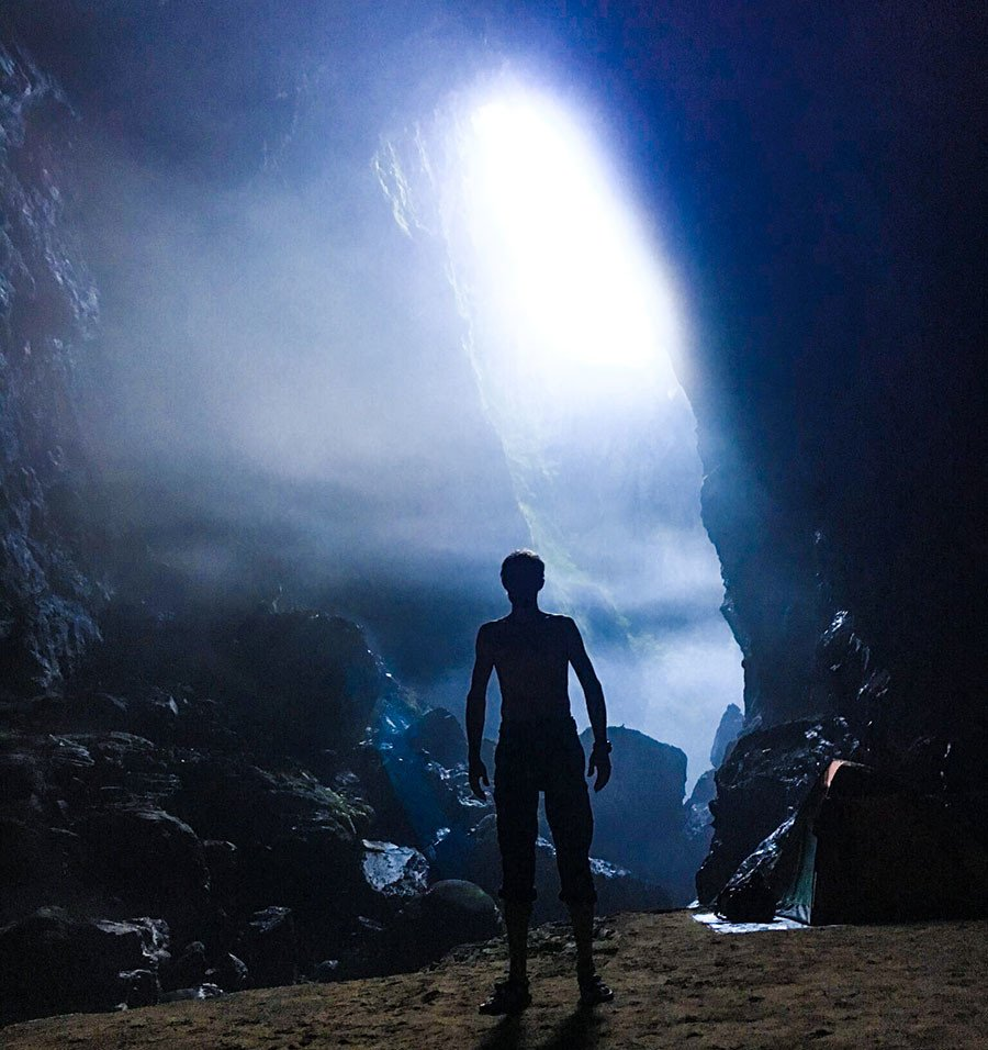 Anh, video: Doan lam phim Nga sung sot truoc 'The gioi bi mat' trong hang Son Doong hinh anh 5